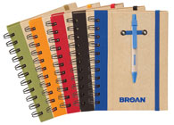 Custom Spiral Notebooks with Pens